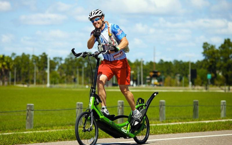 bici ellittica da strada ElliptiGo